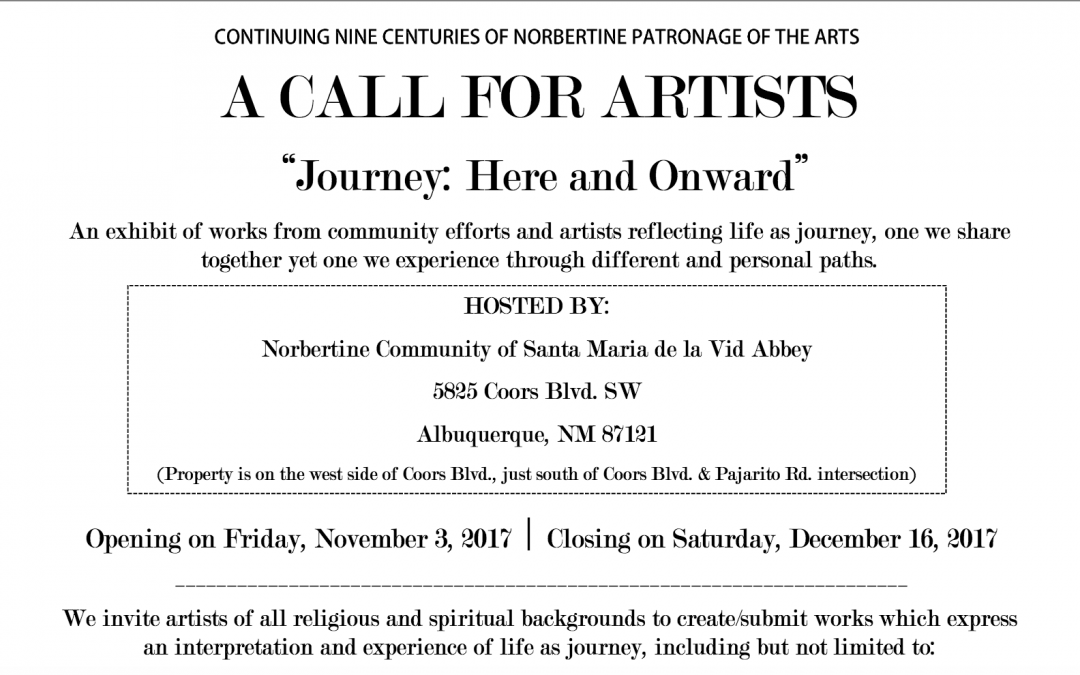 A Call For Artists – November 2017
