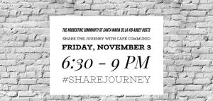 Share the Journey Opening With Café Communio @ Santa Maria de la Vid Abbey