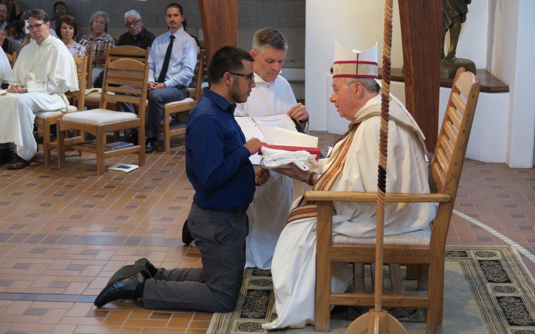 First Vespers of St. Augustine, Vestition – August 27, 2017