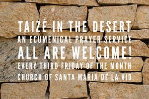Taizé in the Desert @ Santa Maria de la Vid Abbey