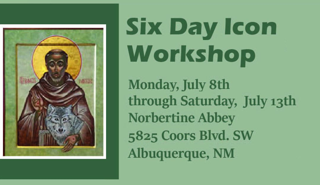 Six Day Icon Workshop