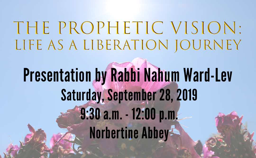 The Prophetic Vision: Life as a Liberation Journey