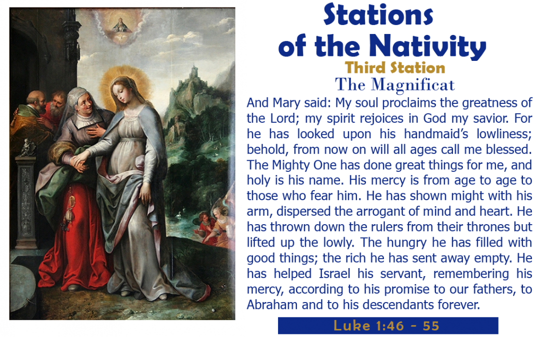 Third Station: The Magnificat