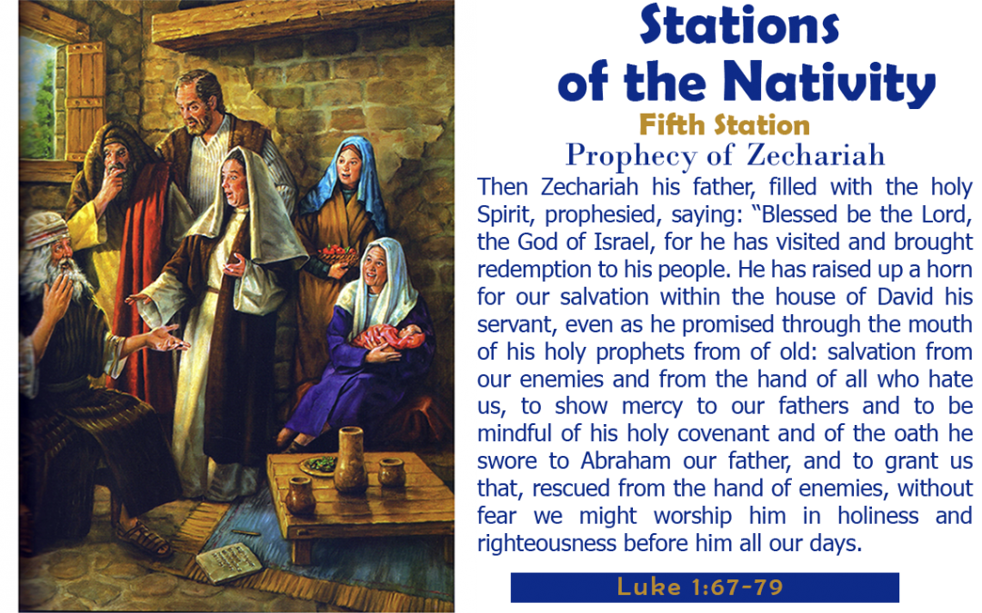 Fifth Station: Prophecy of Zechariah