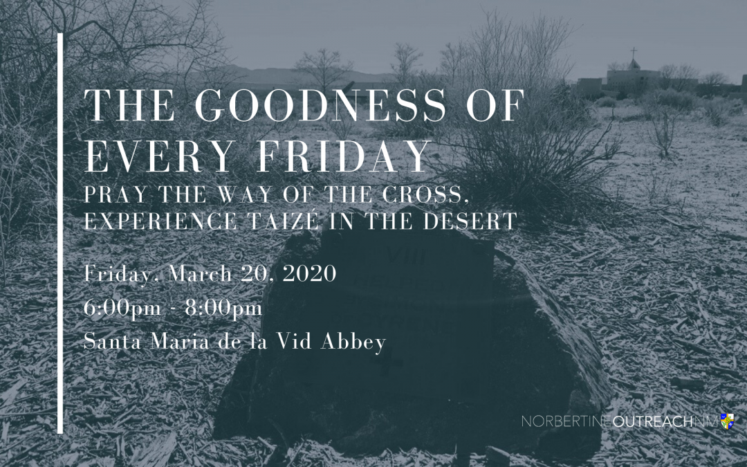 CANCELED – The Goodness of Every Friday