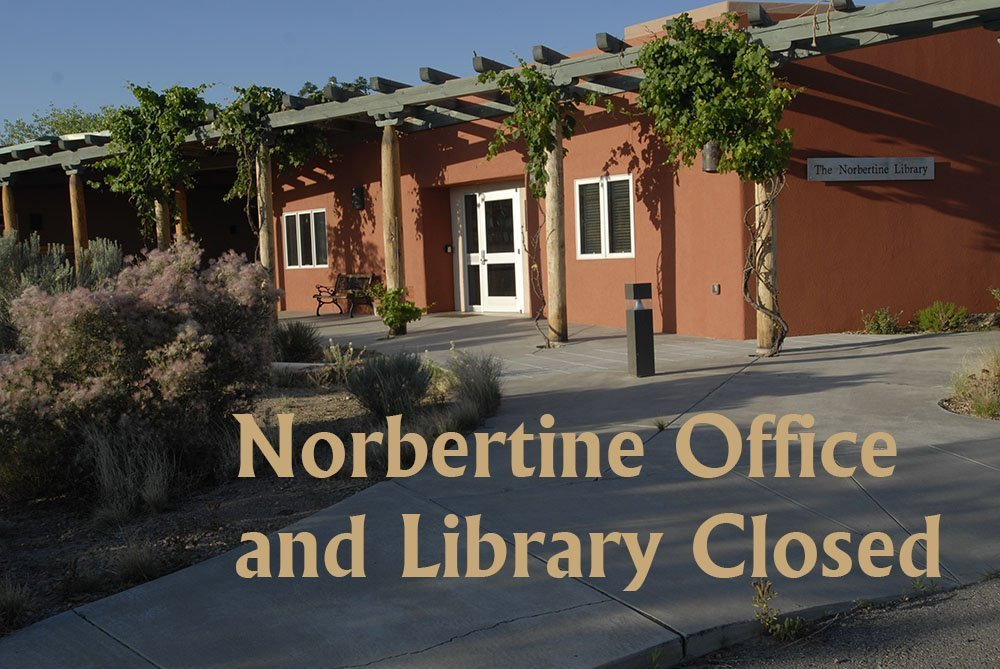 Norbertine Library and Abbey Offices are Closed