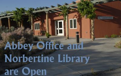 Norbertine Library and Abbey Offices are Open